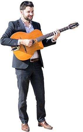 Clément Reboul guitariste jazz et swing pour cocktail
